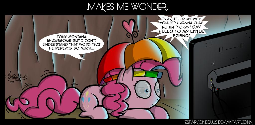 .Comic 28: Makes Me Wonder. by ZSparkonequus