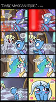 .Comic 29: Dark Magician Trixie. by ZSparkonequus