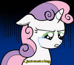 Crying Sweetie Belle