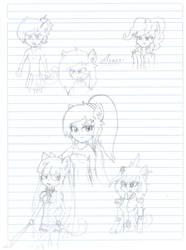 Aeris Sketch Collection by ZSparkonequus