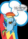 MiniPoni #1 - Rainbow Dash