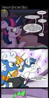 Comic 56: Twilight Knows Best by ZSparkonequus