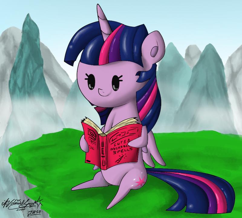 MiniPoni #10 - Princess Twilight Sparkle 2 by ZSparkonequus