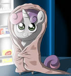 MiniPoni #14 Sweetie Belle - Midnight Snack