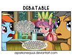 Comic 80: Debatable