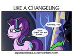 Comic 87: Like A Changeling