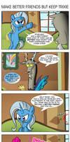 Comic 91: Make Better Friends But Keep Trixie by ZSparkonequus