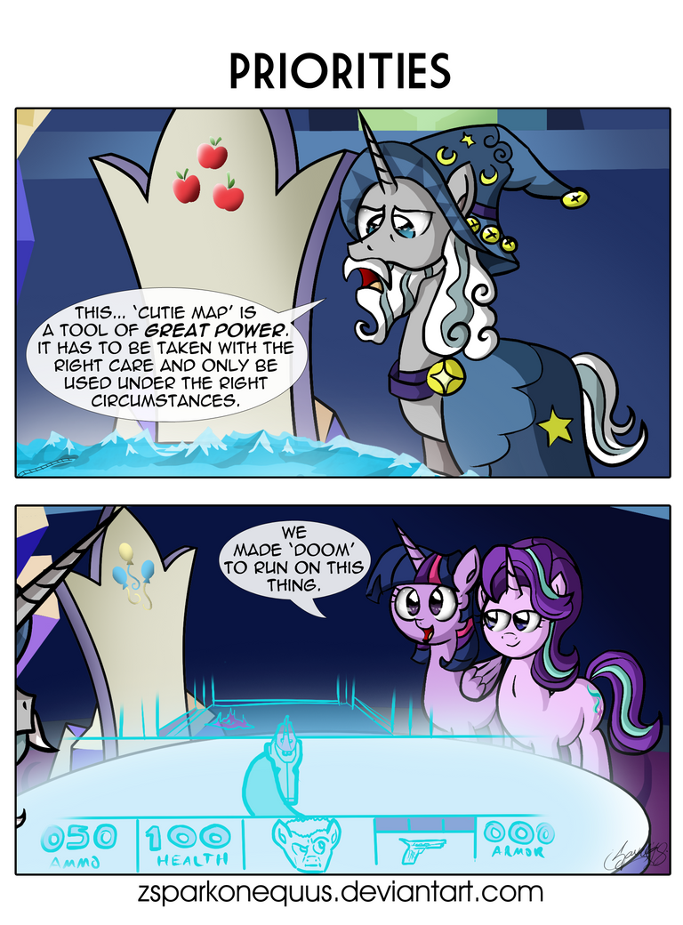 comic_104__priorities_by_zsparkonequus-d