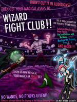 WIZARD FIGHT CLUB!!! by TheShadowie-Pers0n