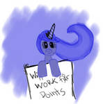 Luna will work for points by Spaceisthelimit