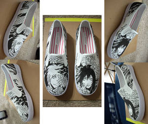 Takeru shoe commission by beanclam