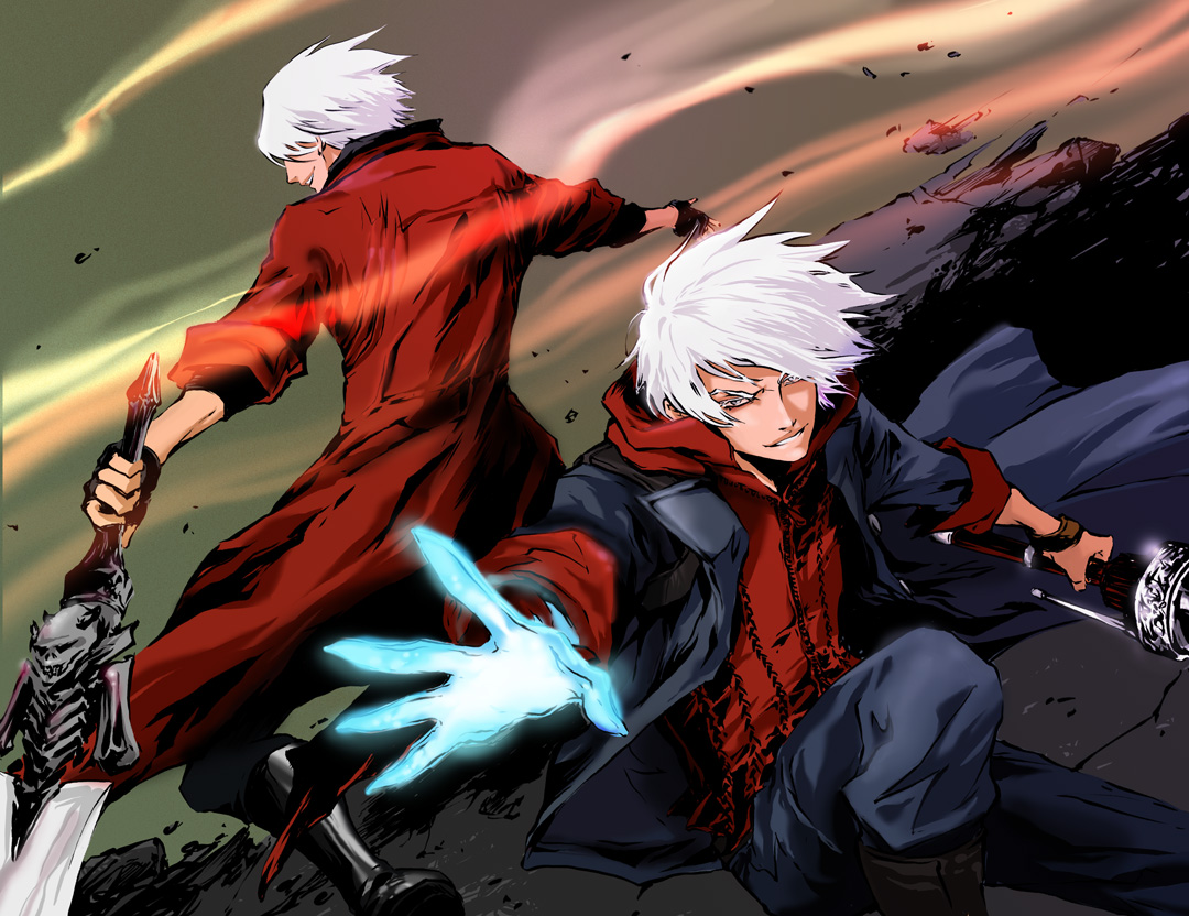 Dante And Nero By Beanclam On DeviantArt