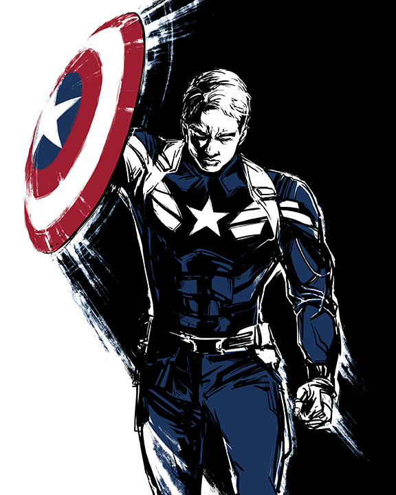 Captain America by beanclam on DeviantArt