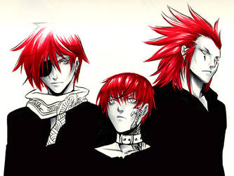 CFUD: Redhaired crew by beanclam
