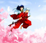 InuKag - Over The Cherry Blossoms