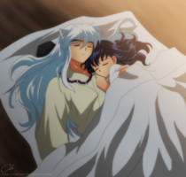 InuKag - Sleep by Cati-Art