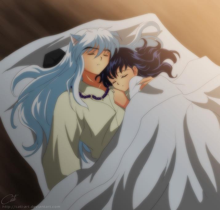 InuKag - Sleep by Cati-Art