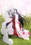 Commission - Inu no Taisho and Izayoi
