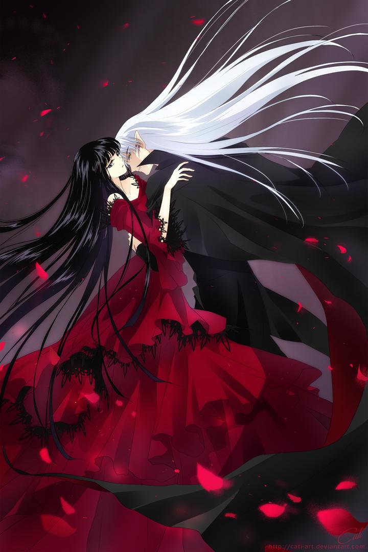SessKik - Petals of Blood by Cati-Art