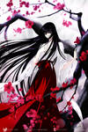 Kikyo - Red Plum Blossoms