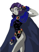 Raven from Teen Titans-Go by Valkyrie1981