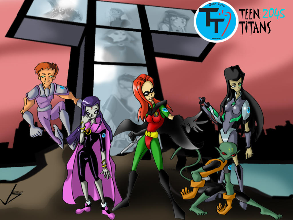 Teen Titans 2045 by Valkyrie1981 Teen Titans 56 Wallpaper