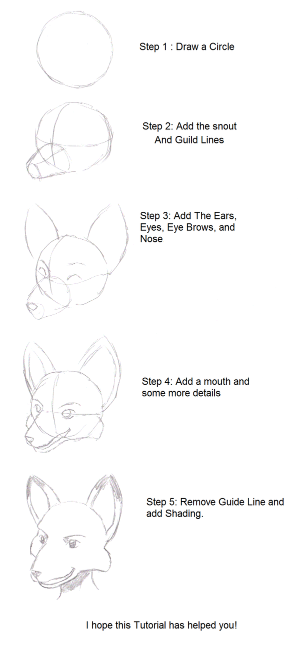 how to draw semi furry