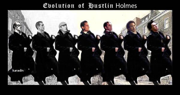 Evolution of Hustlin Holmes by karadin