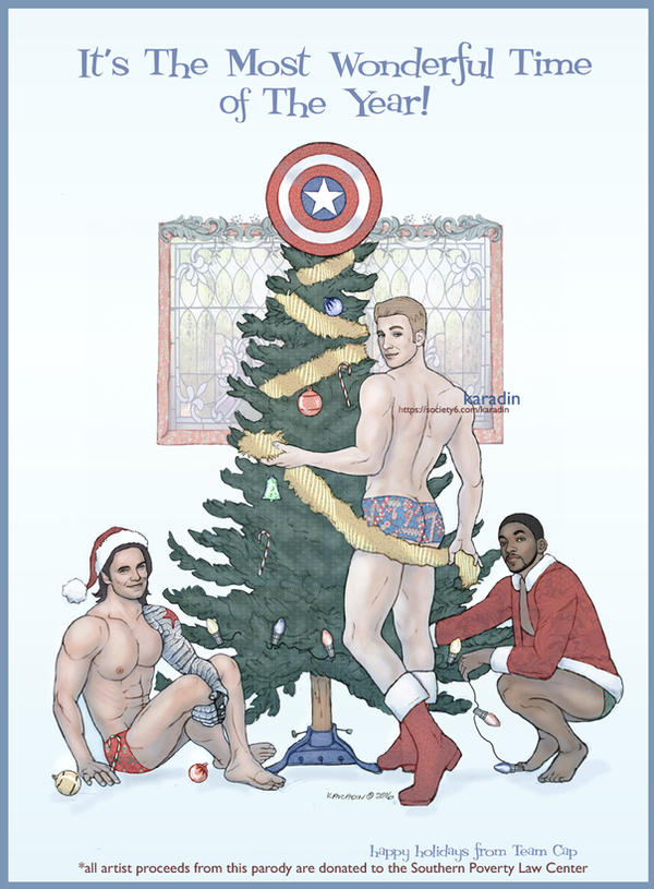 Team Cap *Nice* Holiday Card by karadin