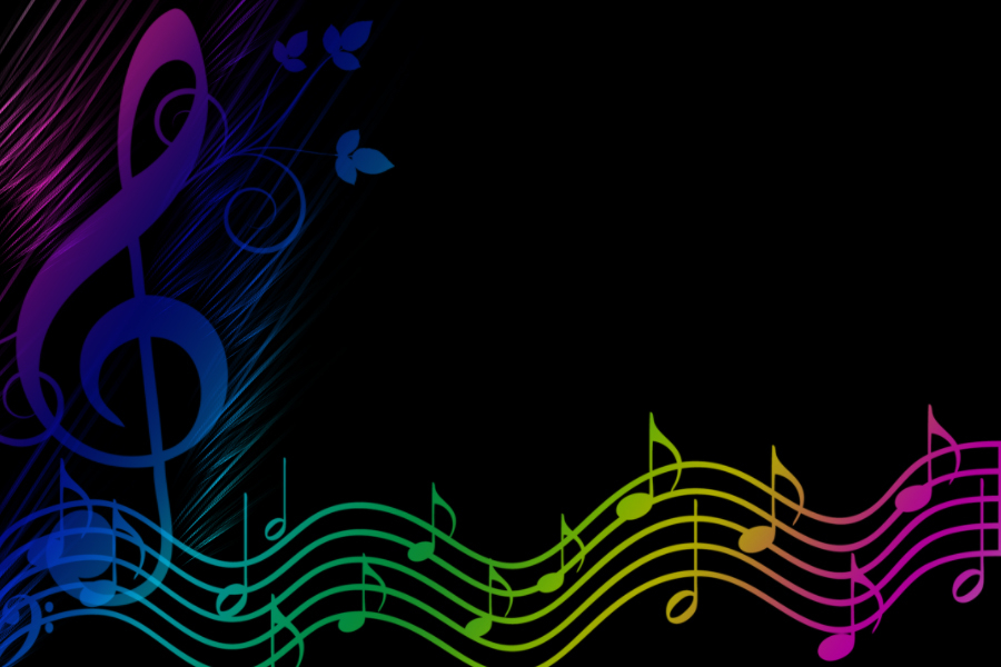 Rainbow Music Notes Background Hd Wallpaper Background Images: Music Rainbow By OoBlueGirloO On DeviantArt