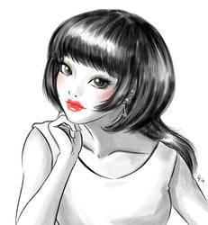 Yuiko by Fidjie