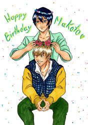 Happy Birthday, Makoto! by Fidjie