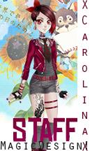 New Staff ! CarolinaButton by SeishiroAkazawa