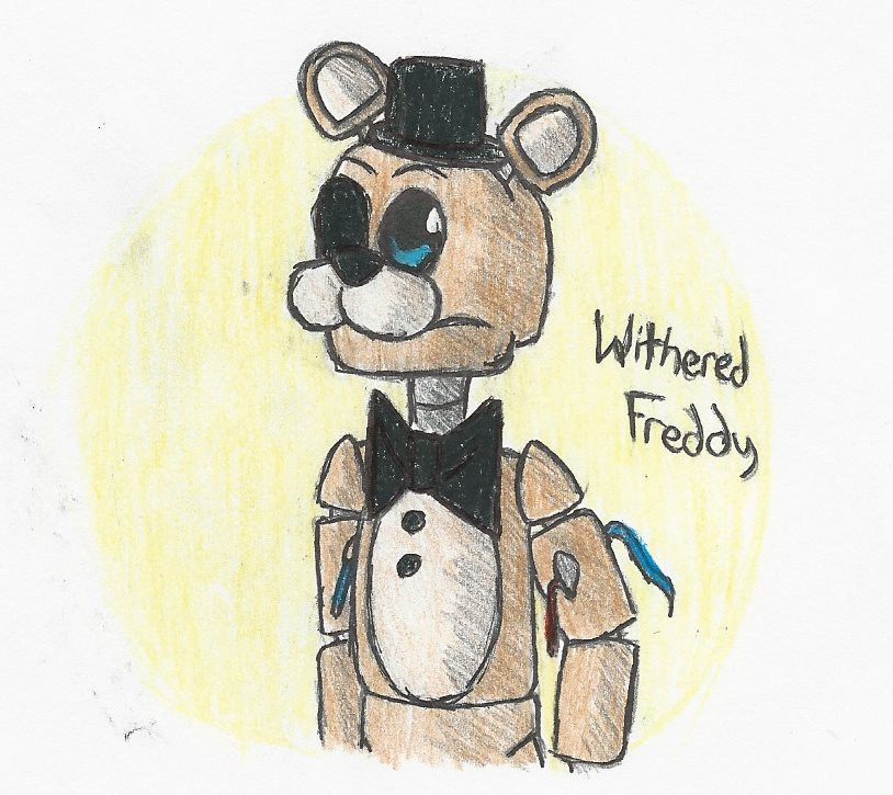 Withered Freddy drawing by CrispyWyvern on DeviantArt