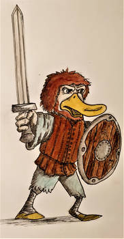 Duck Warrior