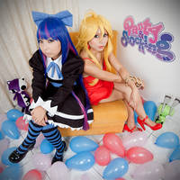 Panty and Stocking::::: by Witchiko