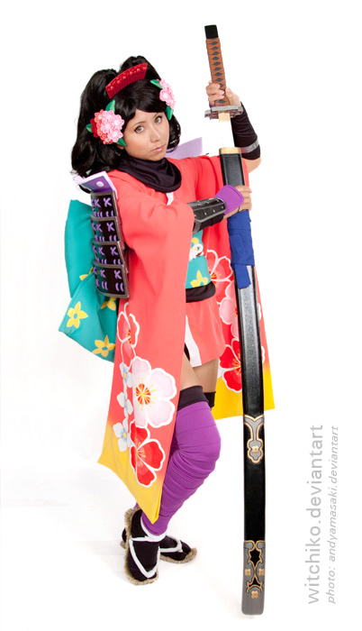Momohime:::: by Witchiko