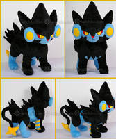 Luxray::::::::: by Witchiko