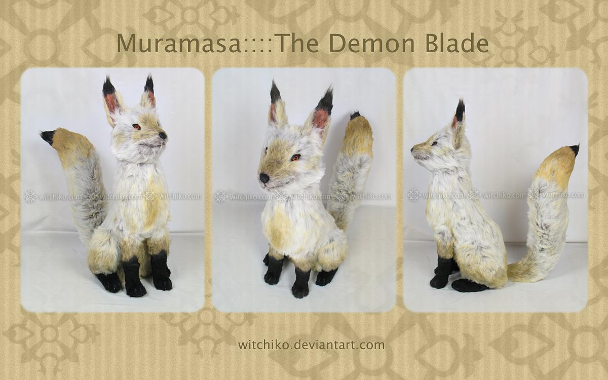Fox:::Muramasa - The Demon Blade:::: by Witchiko