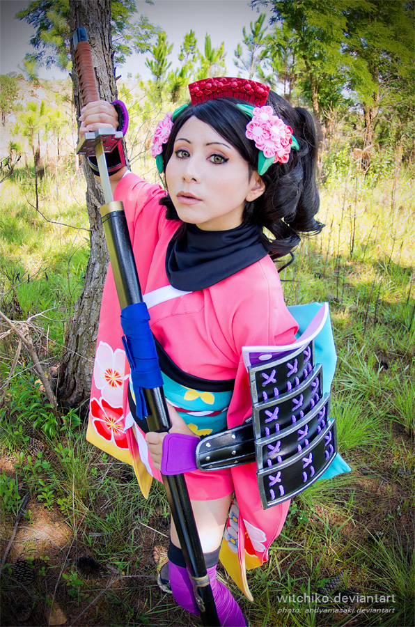 Princess Momohime:::: by Witchiko