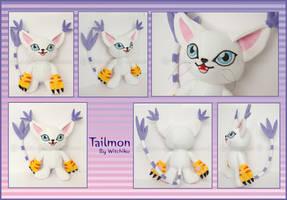Tailmon::::or Gatomon::::: by Witchiko