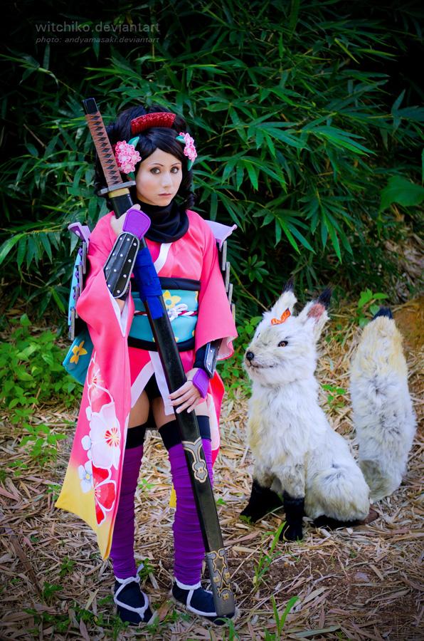 Momohime and Kongiku:::::: by Witchiko