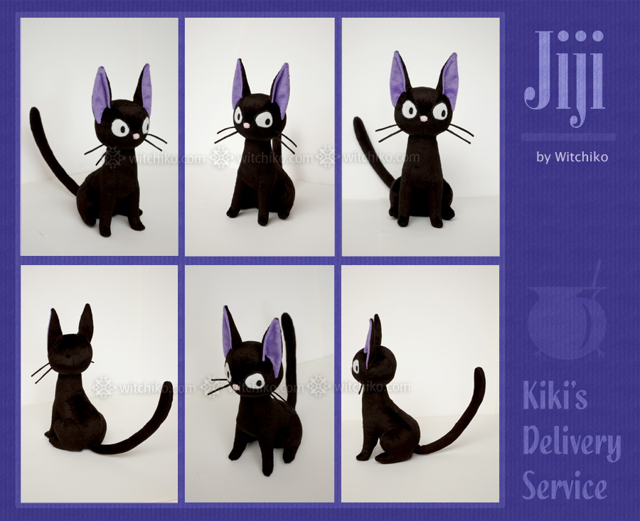 Jiji Plush::::::: by Witchiko
