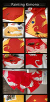 Painting the kimono::::::