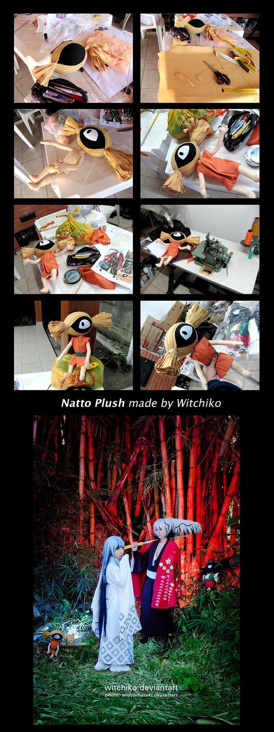 Natto Plush:::::::: by Witchiko