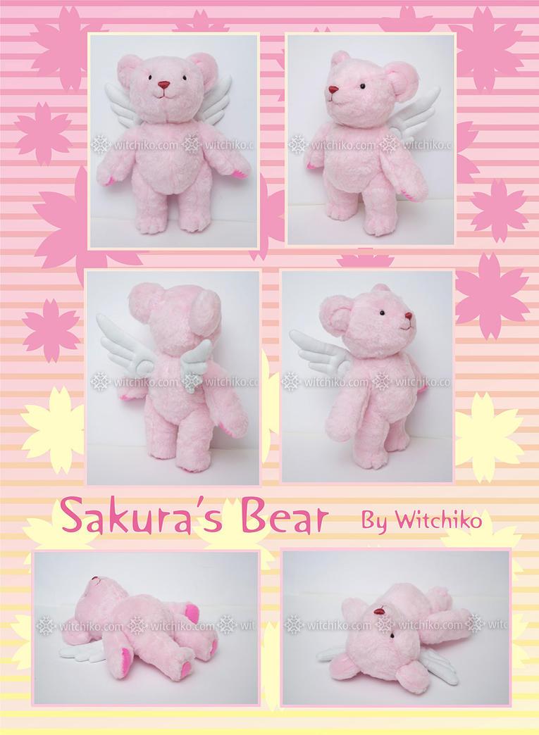 Sakura's Bear::::::::: by Witchiko