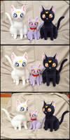 Artemis:::Diana:::Luna from Sailor Moon
