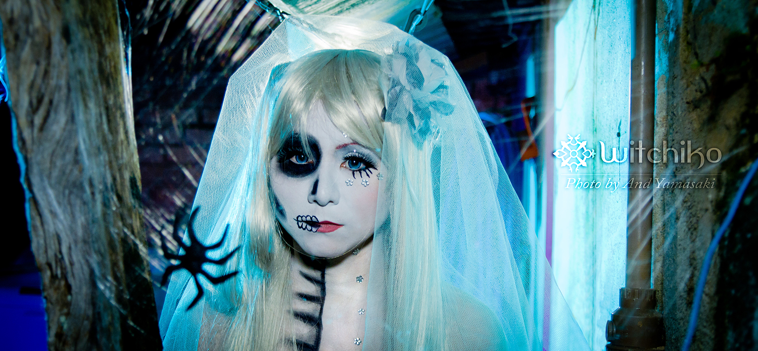 Skull Ghost Girl:::::::: by Witchiko
