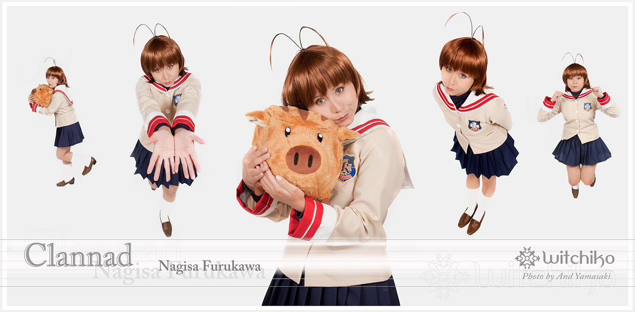 Lot of Nagisas:::::: by Witchiko