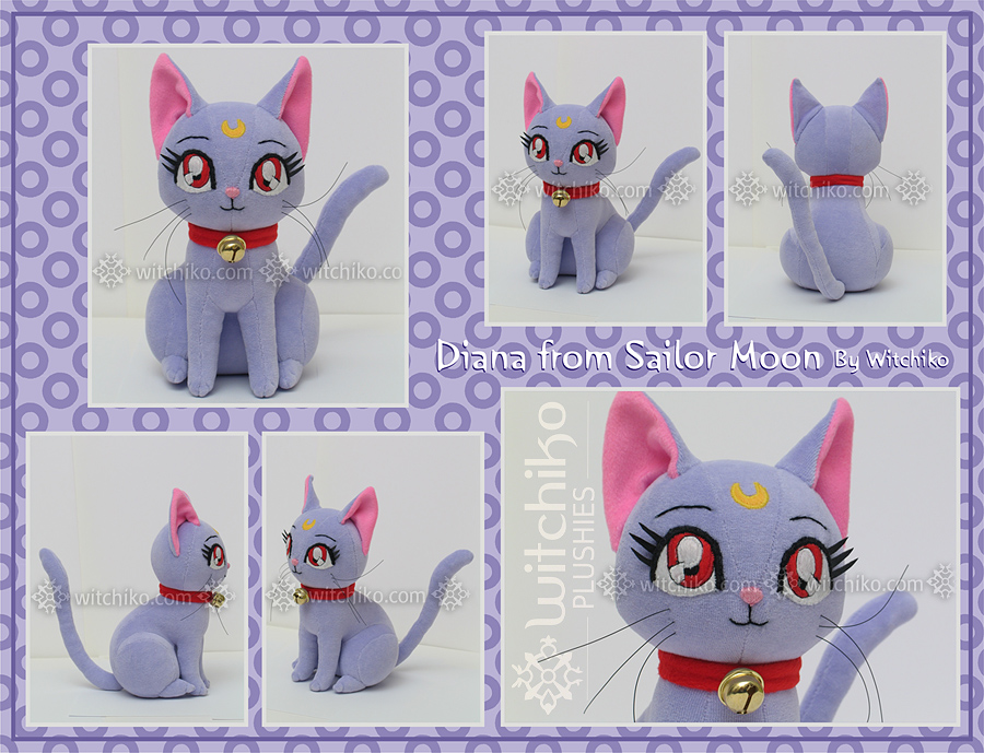 Diana Plush:::::: by Witchiko